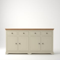 Oxford 4 Door 4 Drawer Large Sideboard