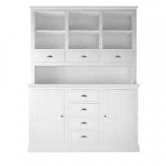 Island Breeze Medium Dresser with Open Shelves & 3 Drawers