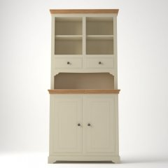 Oxford Compact Dresser with Open Shelves & 2 Drawers
