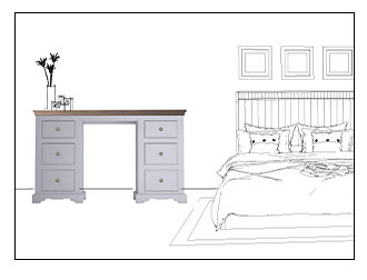 Grey Dressing Tables