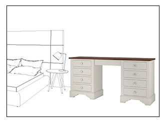 Ivory Dressing Tables