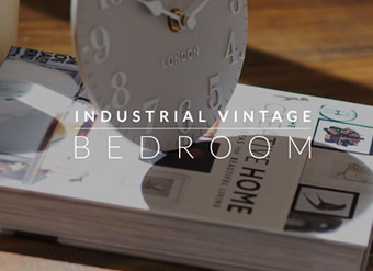 Industrial Vintage Bedroom
