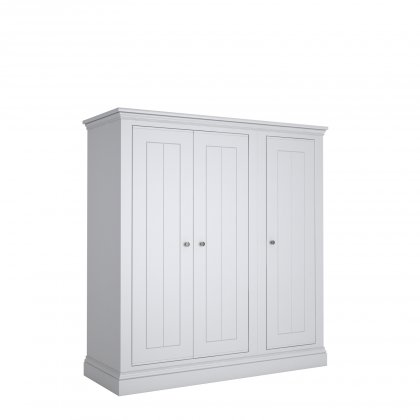 Island Breeze LOW 3 Door Narrow Wardrobe