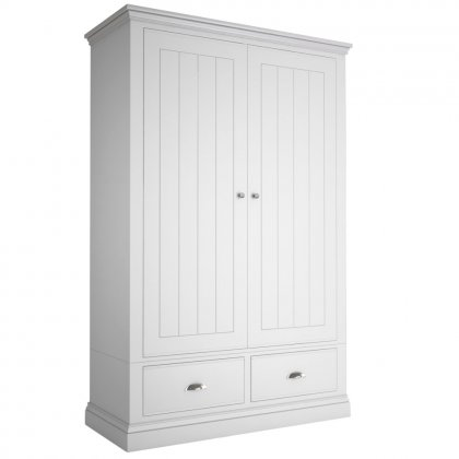 Island Breeze 2 Door Wide Wardrobes With 2 Drawers
