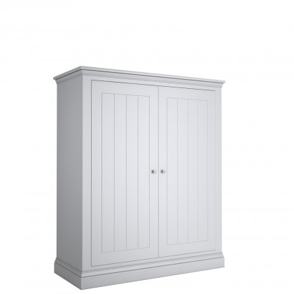 Island Breeze Wide 2 Door Low Wardrobe