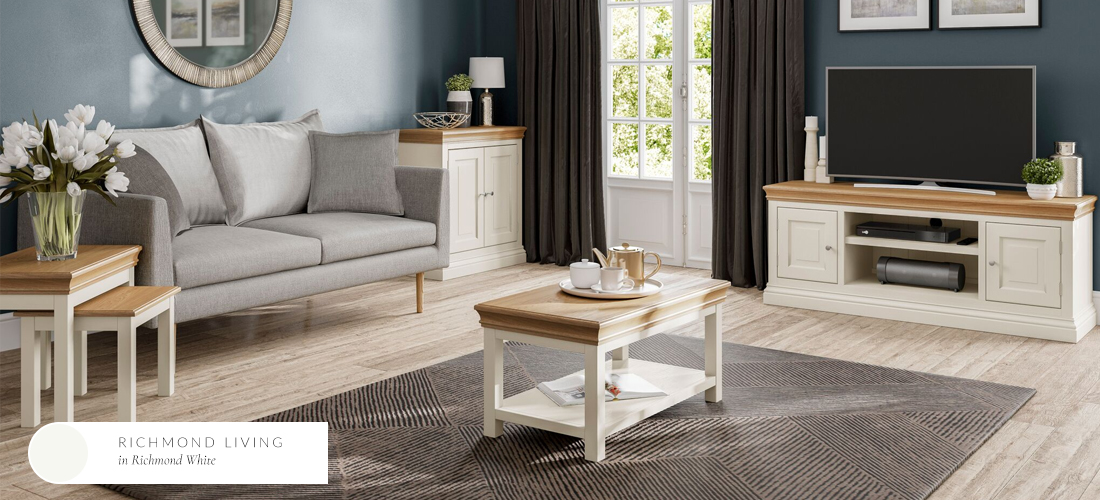 Ivory Living Room Furniture | Painted Furniture Co