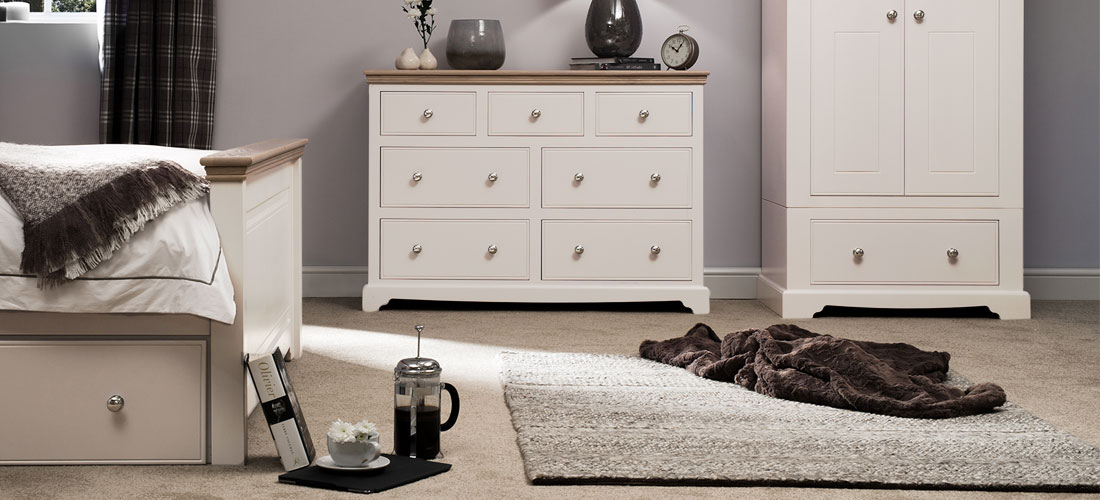Ivory Bedroom Furniture  Painted Furniture Co