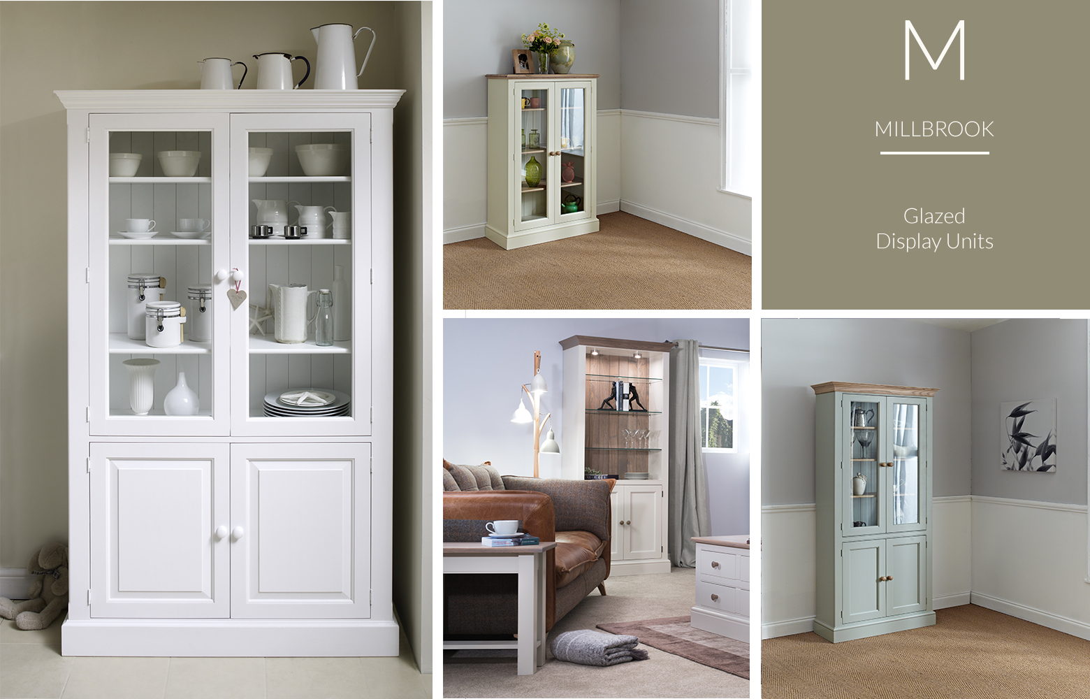 Millbrook Collection Display Units