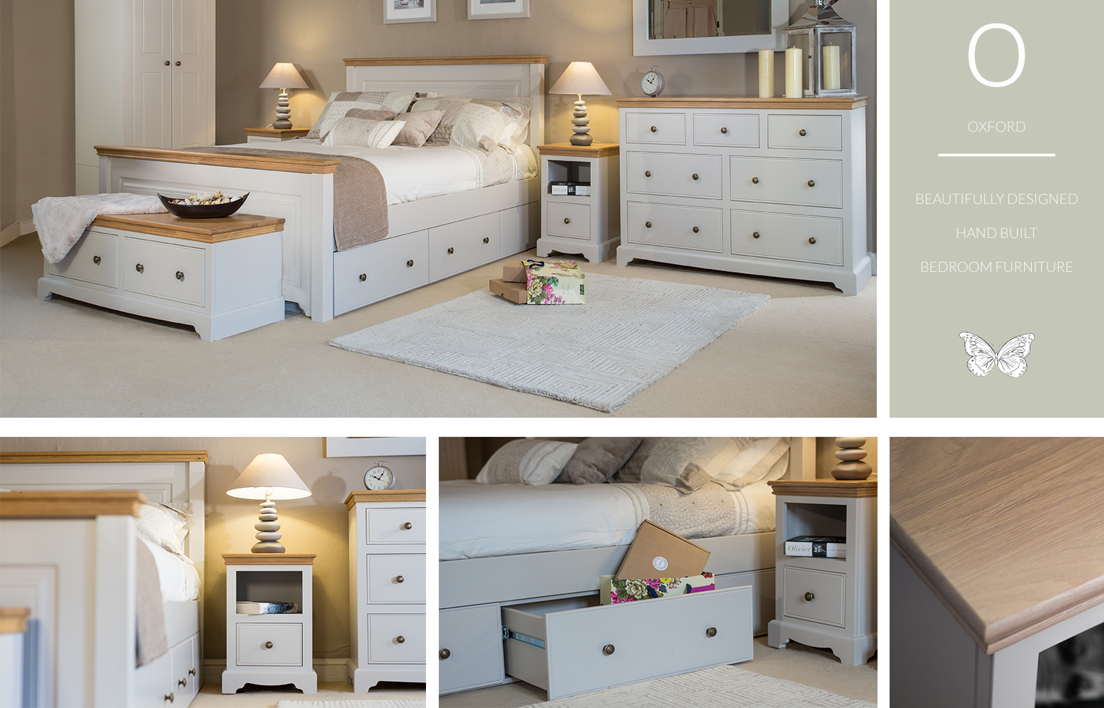 Conceived, Designed, Engineered, Manufactured, Painted And Finished  Entirely In The UK. The Oxford Painted Bedroom Furniture Collection Is A  Modern ...