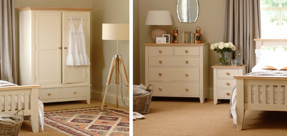 Norton Painted Bedroom Furniture