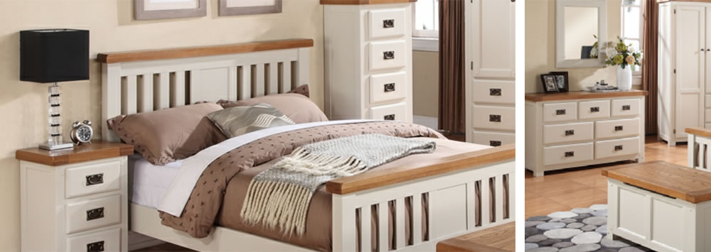 Aspen Painted Bedroom Furniture
