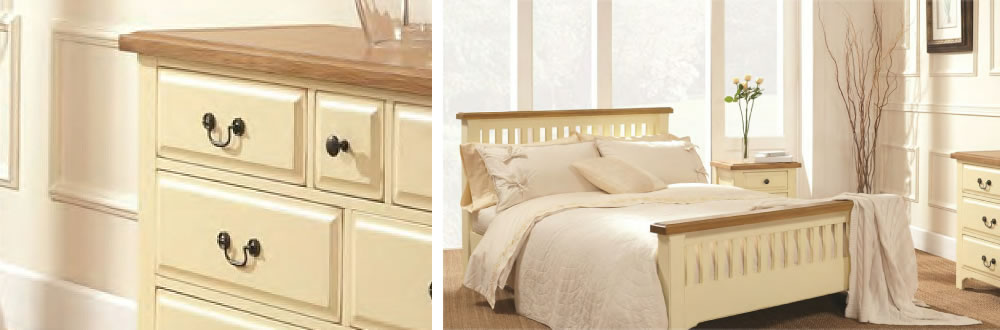 Jersey Painted Bedroom Furniture