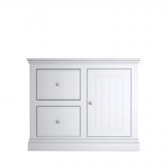 Island Breeze 2 Drawer 1 Door Filing Cabinet