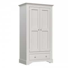 Amberley Narrow 2 Door 1 Drawer Wardrobe