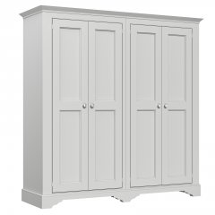 Amberley Narrow 4 Door Wardrobe