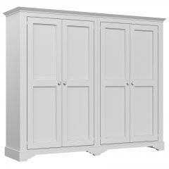 Amberley Wide 4 Door Wardrobe