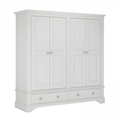 Bay View 4 Door 2 Drawer Wardrobe