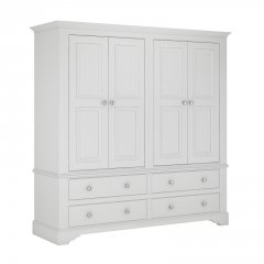 Bay View 4 Door 4 Drawer Wardrobe