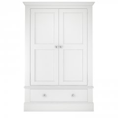 Millbrook Large Two Door Wardrobe with Drawer