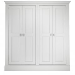 Millbrook Four Door Full Hanging Wardrobe