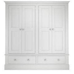Millbrook Four Door Two Drawer Wardrobe