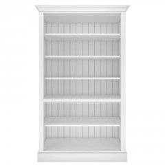 Millbrook Tall Wide Open Shelf Bookcase