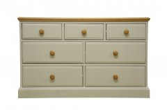 Windrush 3 Over 4 Drawers Chest