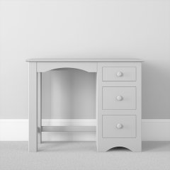 Single Pedestal 3 Drawer Desk