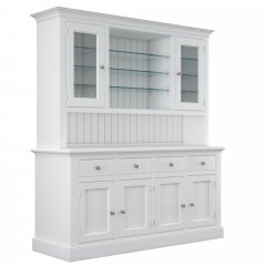 Millbrook Large Part Glazed Dresser