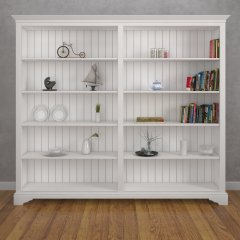 Amberley Wide Double Bookcase