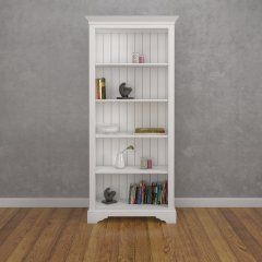 Tall Open Shelf Bookcase