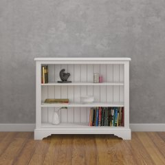 Low Wide Open Bookcase