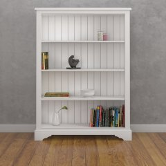 Medium Wide Open Bookcase