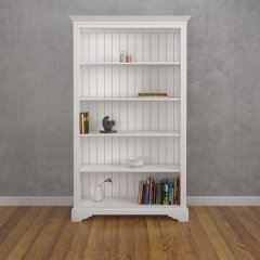 Tall Wide Open Bookcase