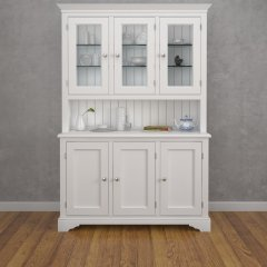 Amberley Three Door Half Glazed Dresser