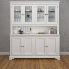 Amberley Four Door Half Glazed Dresser