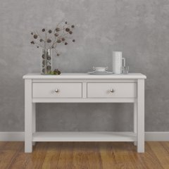 Amberley Two Drawer Console Table