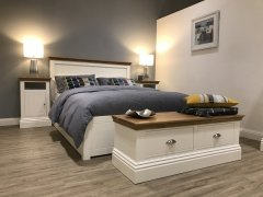 Island Breeze Bed Frame - Low Foot End