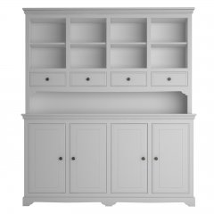 Oxford Large Dresser with Open Shelves & 4 Drawers