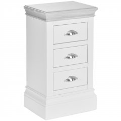 Richmond Narrow 3 Drawer Bedside