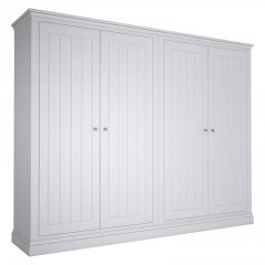 Island Breeze 4 Door Wide Wardrobe