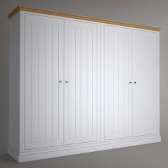 Island Breeze 4 Door Wide Wardrobes