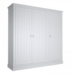 Island Breeze 3 Door Wide Wardrobe