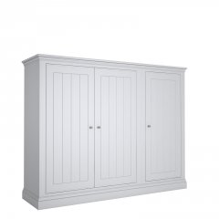 Island Breeze LOW 3 Door Wide Wardrobe
