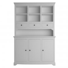 Oxford Medium Dresser with Open Shelves & 3 Drawers