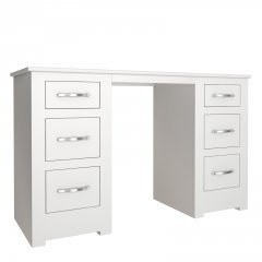 Portland Double Pedestal Dressing Table