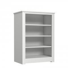Portland Medium Wide Open Bookcase