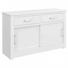 Portland Sliding Door Two drawer Sideboard