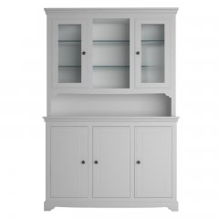 Oxford Medium Dresser with Glazed Doors & Shelves