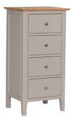 Solent 4 Drawer Narrow Chest